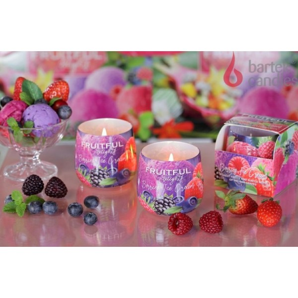 Dišeča svečka BARTEK CANDLES,FRUITFUL DELIGHTS,100g